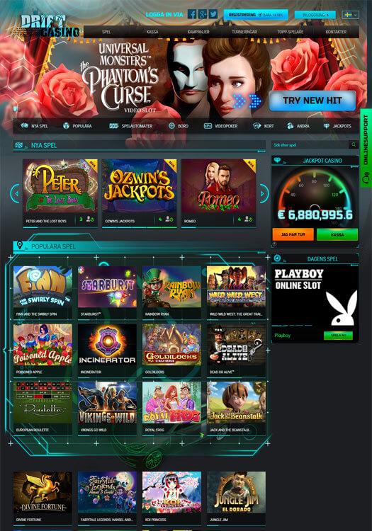 Spela casino med 66099