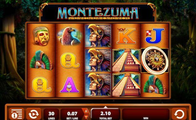 Spela Superhjälte Montezuma träning