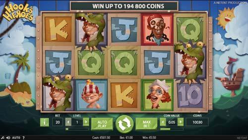 Största ordlista casino Heroes winner