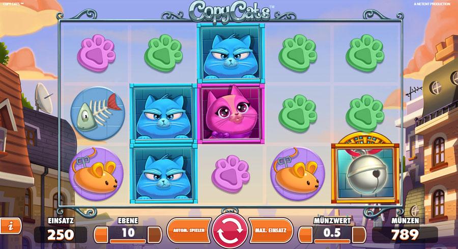 Sveacasino Copy Cats personal