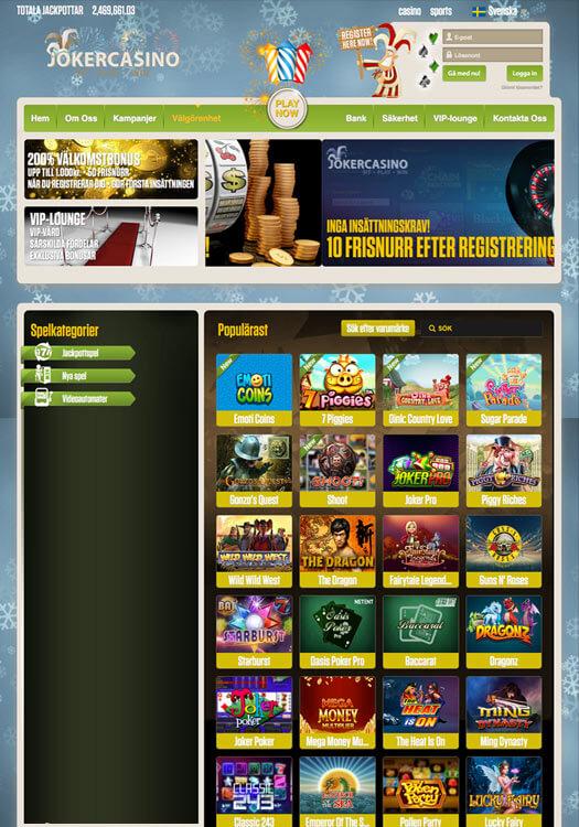 Svenskt casino i världsklass 70463
