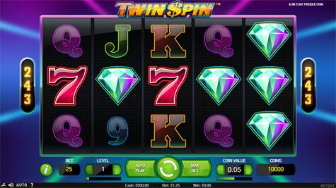 Twin spin idag casinospel rome