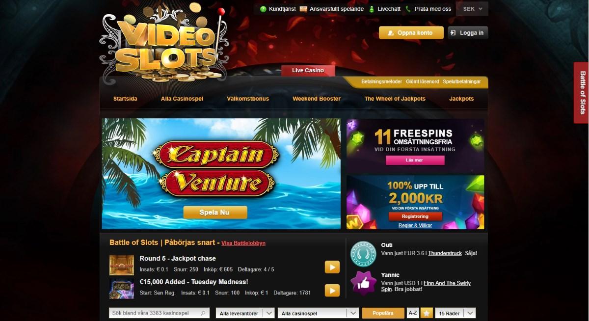 Välkomstbonus casino spelautomater classy